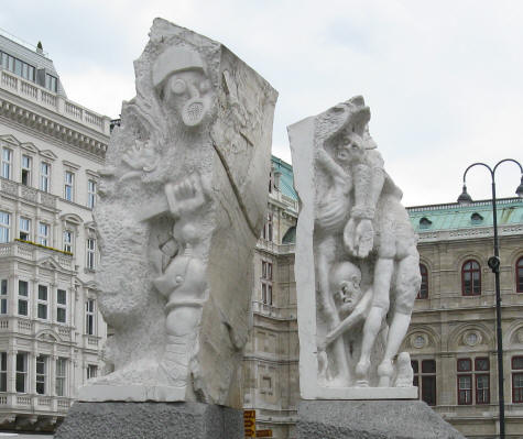 Fascism Monument in Vienna Austria