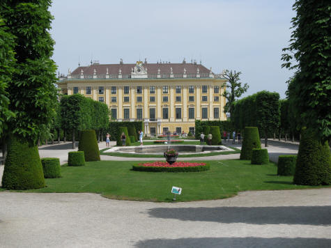 Kammergarten at Schonbrunn Palace