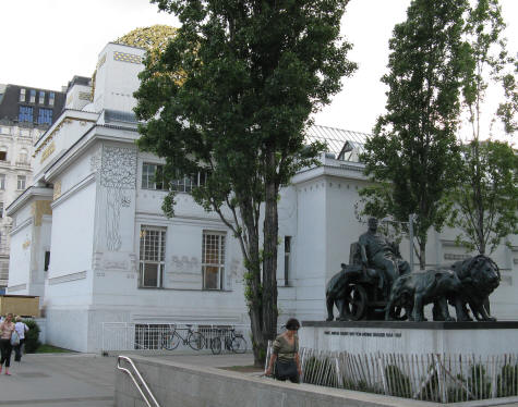 Secession Building in Vienna Austria