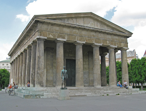 Theseus Temple in Vienna Austria
